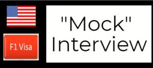 f1 mock interview