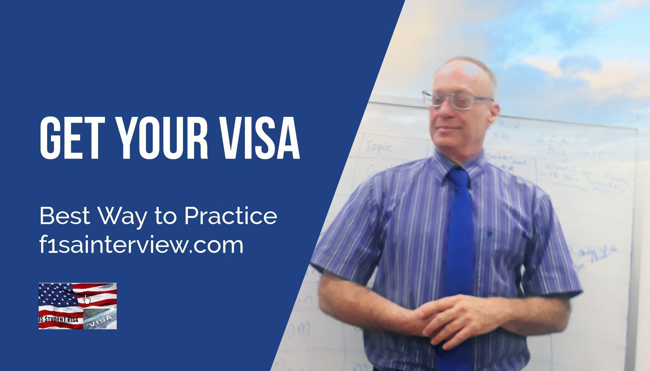 get your f1 visa kevin